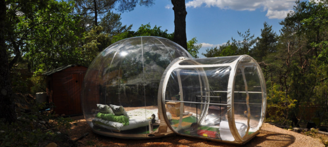 European Romantic Breaks: Sleeping in a Bubble Tent Under the Stars!