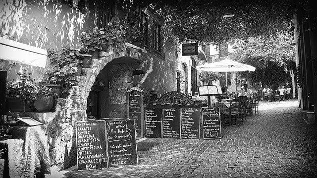 Romantic Lane in Chania