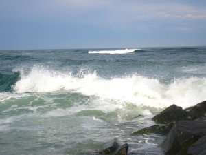 romantic shore