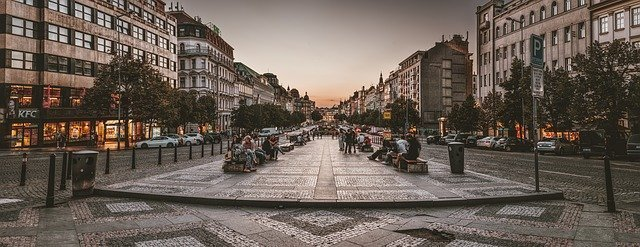 Prague Romantic City - Wenceslas Square