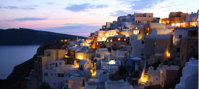 Santorini, A Romantic Greek Island: Wonderful Beyond Imagination!!