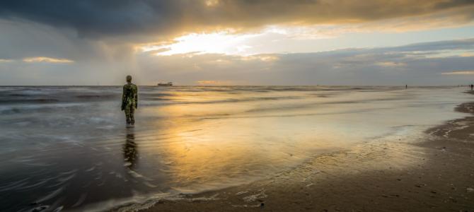 Crosby Beach, a Romantic UK Breaks: #1 Beach near Liverpool