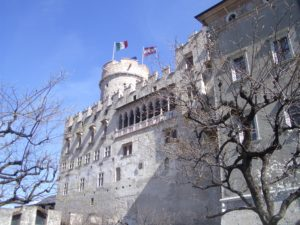 romantic castle of Trento